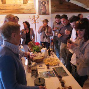 Die Teilnehmer vom V Wanderdorfsymposium (c) Karmen Nahberger