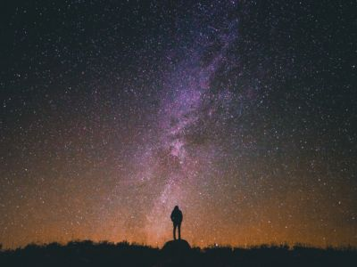 cielo stellato, pexels